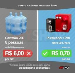 Purificador filtro de água Soft