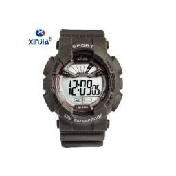 Título do anúncio:  Relógios Eletrônicos ao ar Livre Choque Resistir Moda lcd Banda de Borracha