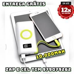 Título do anúncio: Carregador  Sem Fio 10.000mah Qi iPhone X 8 S8 S7 Note