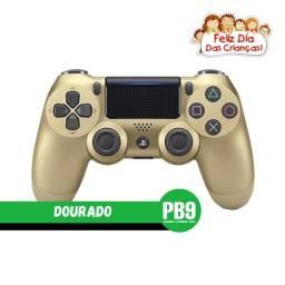 Título do anúncio: Controle Sony Dualshock PS4 Dourado