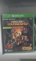 Título do anúncio: Minecraft Dungeons lacrado (Xbox)