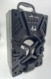 Caixa De Som Bluetooth Hifi Sd Card P2 Usb Radio Fm