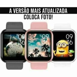 Smartwatch Relógio D20 Pró Atualizado 2021 Troca Foto