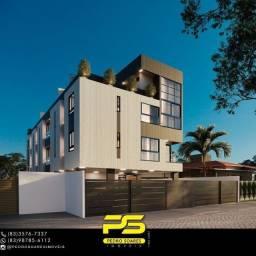 Apartamento com 3 dormitórios à venda, 70 m² por R$ 265.000 - Altiplano Cabo Branco - João
