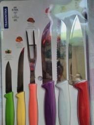 Jogo de facas tramontina