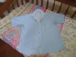 Blusão azul (G)