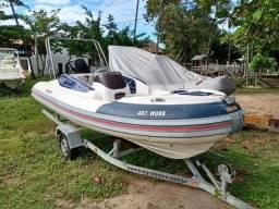 Título do anúncio: Bote Flex Boat 450 C Mercury 60 Hp 4 Tempos