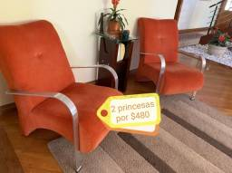 2 Poltronas/cadeiras