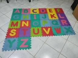 Tapete infantil alfabeto