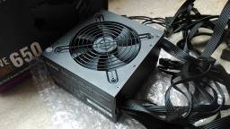Fonte Cooler Master MWE 650W (Dando choque no Pc)