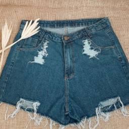 Short jeans Plus Size TAM 48