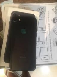 IPhone 7 32GB Preto fosco Lindo