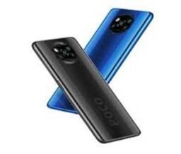 Título do anúncio: Poco X3 6+64GB Azul/Cinza Bateria 6000 mAh