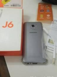 Samsung J6 32gb Nota fiscal na caixa completo TV digital