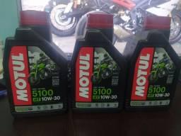 Óleo motul 10w30 3 litros
