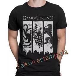 Camiseta game of thrones season blusa feminina game of thrones