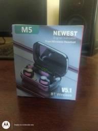 Fone Bluetooth M5 (Leia a descrição)