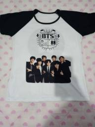 Camiseta bts army kpop nova