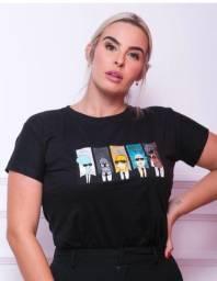 T-shirts no varejo e atacado