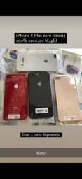 Título do anúncio: iPhone 8 Plus 64GB Zero!!