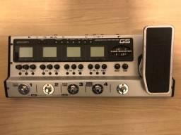 Pedaleira zoom g5 e caixa Borne Vorax 840