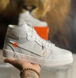 Título do anúncio: Tênis Nike Air Jordan 1 Off White