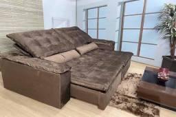 Sofá retrátil reclinável