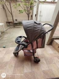 Título do anúncio: Carrinho de bebê com bebê conforto
