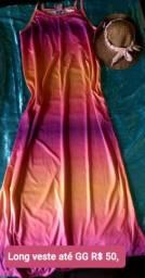 Vestido longo TIE DIE
