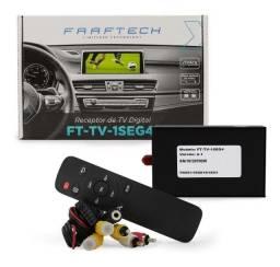 Modulo Receptor Tv Digital Faaftech Automotivo Ft-tv-1seg4