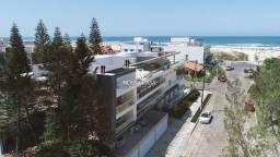 Título do anúncio: Apartamento com 01 dormitório com garagem a poucos metros do mar no edifício San Andrés em