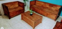 Vendo móveis rústicos artesanais