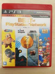 Best of playstation network  4 em 1 para play 3