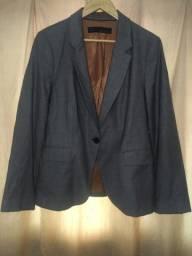 Blazer cinza Mescla Zara