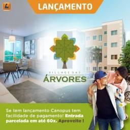 A=Village das Árvores | Apartamento no Turú | 2 quartos, próximo ao Village Boulevard 1