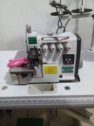 Máquina de costura overlok ponto cadeia direct drive sewpower nova