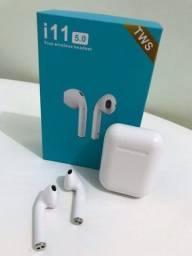 Título do anúncio: Fone bluetooth i11 touch novo na caixa