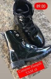 Roupas e calçados marca pampili, clin e outras muitas variedades de marcas....