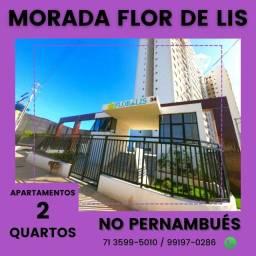 Apartamentos 2/4 com suíte, Morada Flor de Lis - Pernambués