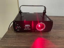 Vende-se! Iluminação para festas e eventos 02 laser,01 máquina de fumaça,01 stobo led