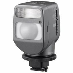 Título do anúncio: Iluminador Sony Hvl-hfl1 Com Luz E Flash Para Filmadoras