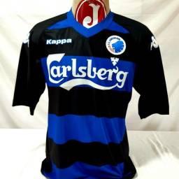 Camisa Kobenhavn Copenhague Dinamarca Futebol Kappa 2010/2011