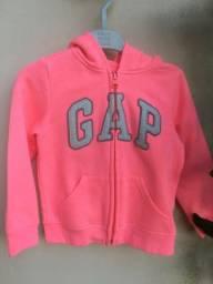 Moletom Gap Pink Flúor