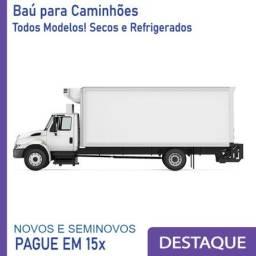 Baú Refrigerado e Baú Seco para Caminhão Modelo Ano 2010, 2012, 2..