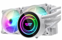 Watercooler DarkFlash Twister DX-240 Branco ARGB - Loja Fgtec Informática