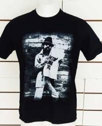 Camisa Raul Rauzito Rock Nacional 100 algodao malha 30.1