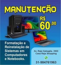 Manutenção de PC e Notebooks