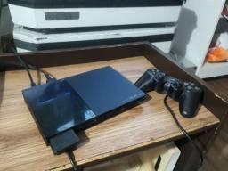 PlayStation 2 completo com jogos