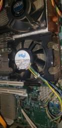 Kit servidor+2 processadores xeon 24megas