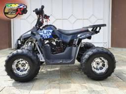 Mini Quadriciclo Taurus 110 cc Preto/Azul 2020